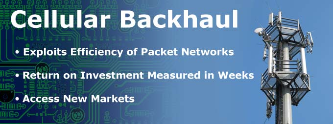 Cellular Backhaul, Packet Networks